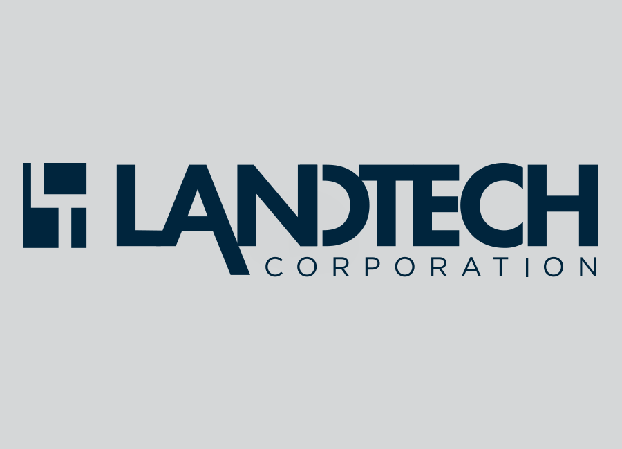 landtech logo + website
