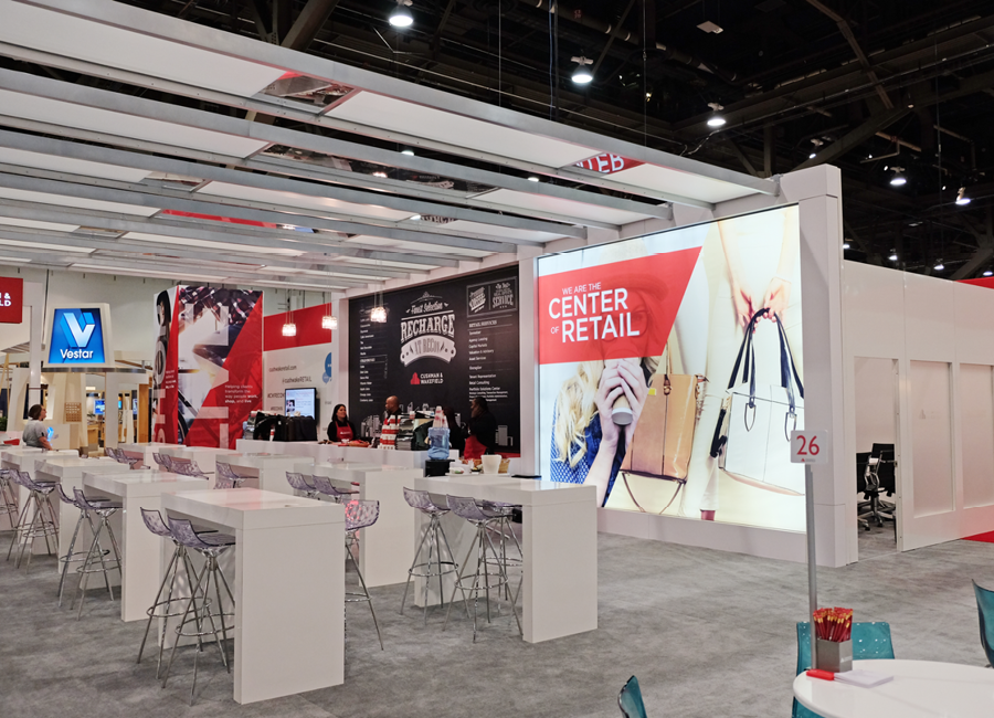 CW ICSC Trade Show Booth Angle 1